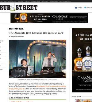 Sid Golds Named Best Kareoke Bar In New York