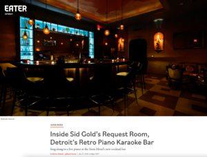 Inside Sid Gold's Request Room, Detroit's Retro Piano Karaoke Bar
